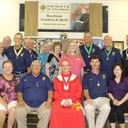 KC Council 3015 Installation of Officers and wives for the 2016-2017 Fraternal Year. Officers were installed by District Deputy Troy Rizzuto on June 22, 2016 at the KC Hall.